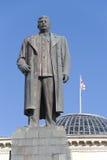 斯大林雕象 免版税库存照片