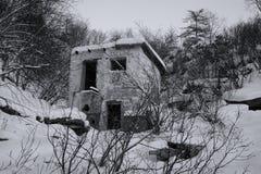 斯大林主义时代的遗物在Kolyma (古拉格) 库存照片