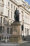 斯宾塞坎顿状态在伦敦白厅 免版税图库摄影