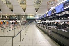 斯希普霍尔机场 图库摄影