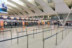 斯希普霍尔机场 免版税库存照片