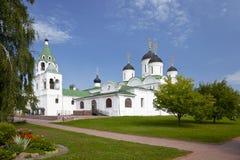 斯帕斯基修道院。Murom 免版税库存照片