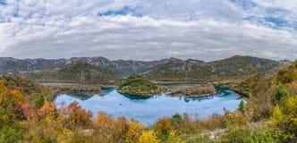 斯库台湖黑山 免版税图库摄影