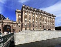 斯德哥尔摩、同水准瑞典-老镇处所Gamla斯坦和议院  库存照片