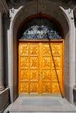 斯德哥尔摩和它的建筑学,瑞典细节  免版税图库摄影
