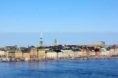 斯德哥尔摩地平线 库存照片