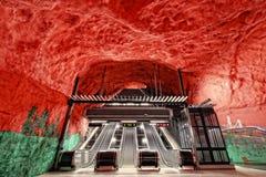 斯德哥尔摩地铁(地铁) 库存照片