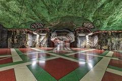斯德哥尔摩地铁 库存照片