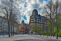 斯德哥尔摩大厦和建筑学 库存图片