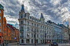 斯德哥尔摩大厦和建筑学 库存照片