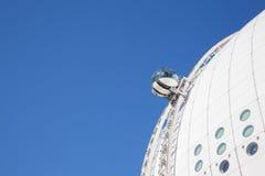 斯德哥尔摩天空视图 免版税库存照片