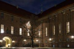 斯德哥尔摩市政厅 库存照片