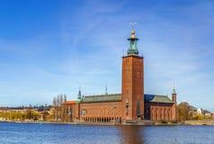 斯德哥尔摩市政厅 免版税库存图片