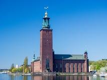 斯德哥尔摩市政厅 库存图片