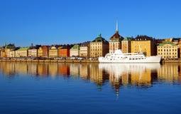 斯德哥尔摩市 免版税库存图片