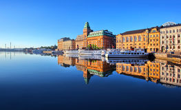 斯德哥尔摩市 库存照片
