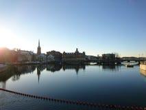 斯德哥尔摩海洋看法  库存图片