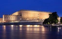 斯德哥尔摩瑞典王宫  免版税库存图片
