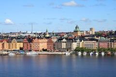 斯德哥尔摩瑞典 免版税图库摄影
