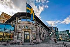 斯德哥尔摩皇家歌剧院 图库摄影