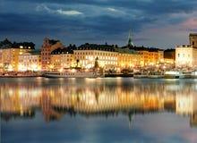 斯德哥尔摩老镇, Sweiden 免版税库存图片