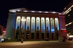 斯德哥尔摩音乐厅 库存图片