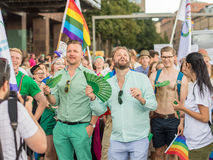 斯德哥尔摩骄傲游行2016年 库存图片