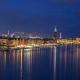 斯德哥尔摩,瑞典,欧洲 免版税库存照片