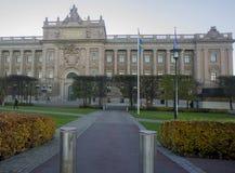 斯德哥尔摩,瑞典 斯堪的纳维亚城市的地标 免版税库存照片