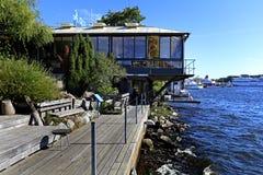 斯德哥尔摩,瑞典-水族馆-水族馆和oceanarium在Dju 库存照片
