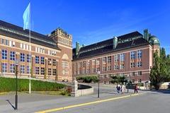 斯德哥尔摩,瑞典-自然历史博物馆主楼在Brun 库存照片