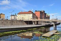 斯德哥尔摩 海岛Riddarholmen 库存图片