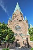 斯德哥尔摩索菲娅教会 库存图片