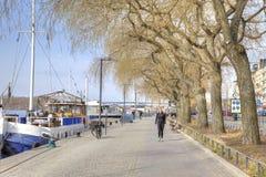 斯德哥尔摩 都市的横向 库存图片