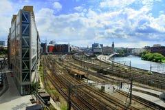 斯德哥尔摩Centralstation 免版税图库摄影