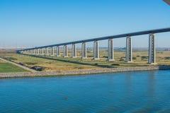 斯托克顿桥梁 库存照片
