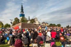 琴斯托霍瓦,波兰- 2016年10月15日:团结的补偿,全da 库存照片