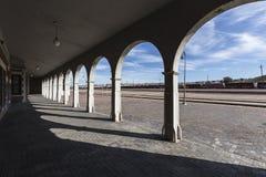 巴斯托驻地曲拱 免版税库存照片