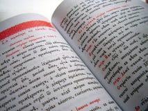 斯拉夫语字母的字体 库存图片