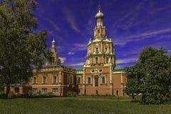 斯摩棱斯克教会 图库摄影