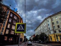 斯摩棱斯克老市 免版税库存照片