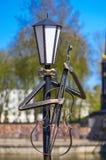 斯摩棱斯克,俄罗斯- 2018年5月03日:灯笼在的公园为 免版税库存照片