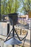 斯摩棱斯克,俄罗斯- 2018年5月03日:灯笼在的公园为 库存照片