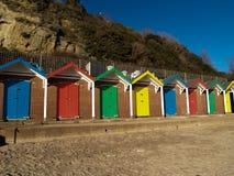 斯旺西海滩小屋 免版税库存图片