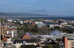 斯旺西,威尔士英国 免版税库存照片