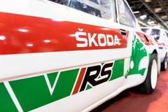 斯柯达VRS汽车 库存照片