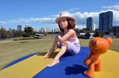 绍斯波特Broadwater Parklands英属黄金海岸昆士兰澳大利亚 免版税库存照片