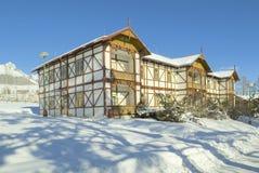 斯洛伐克的tatras冬天 图库摄影