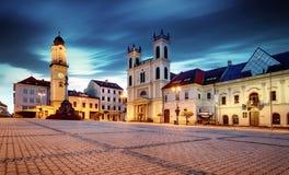 斯洛伐克, Banska Bystrica主要SNP正方形 免版税图库摄影