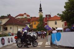 斯洛文尼亚,伦达瓦的游览 免版税图库摄影